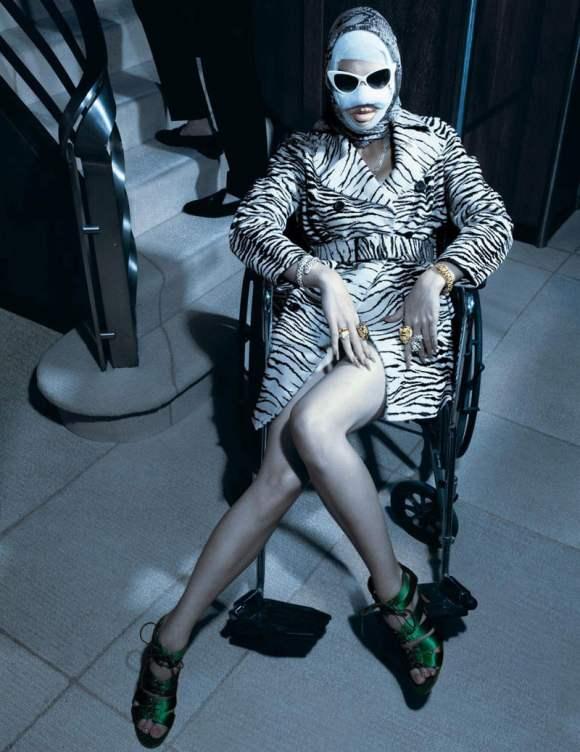 Crystal Renn for Vogue Paris December–January 2011