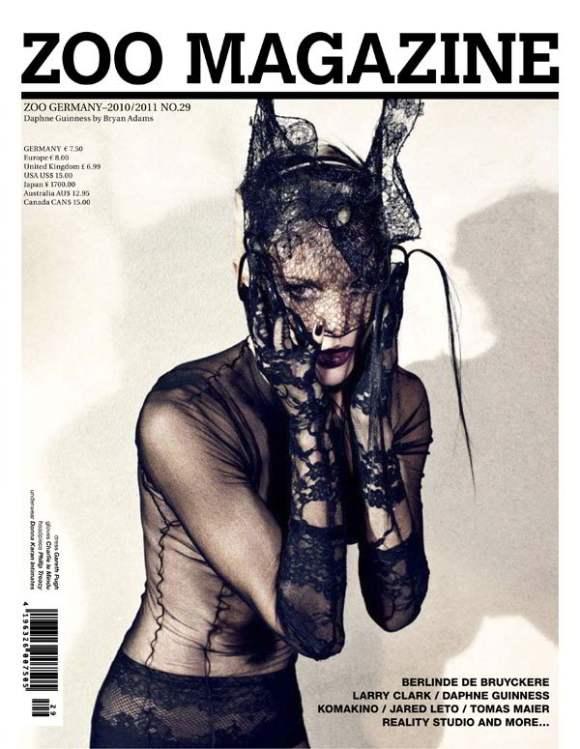 Daphne Guinness for Zoo Magazine Winter