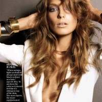 Daria Werbowy Marie Claire US December 2010