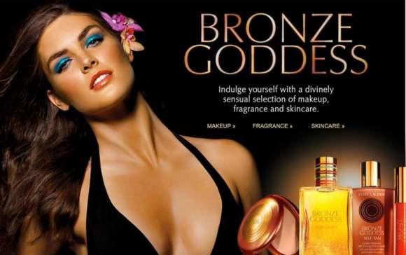Estee Lauder Bronze Goddess Collection 2010