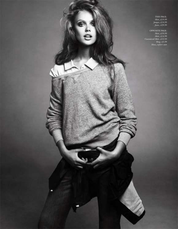 Frida Gustavsson HM Magazine Winter 2010-5
