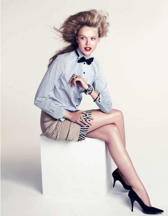Frida Gustavsson HM Magazine Winter 2010-6