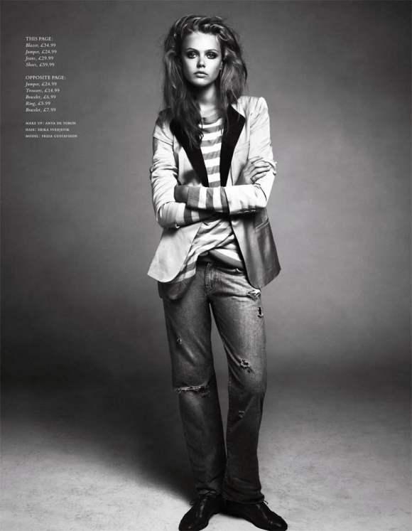 Frida Gustavsson HM Magazine Winter 2010-8