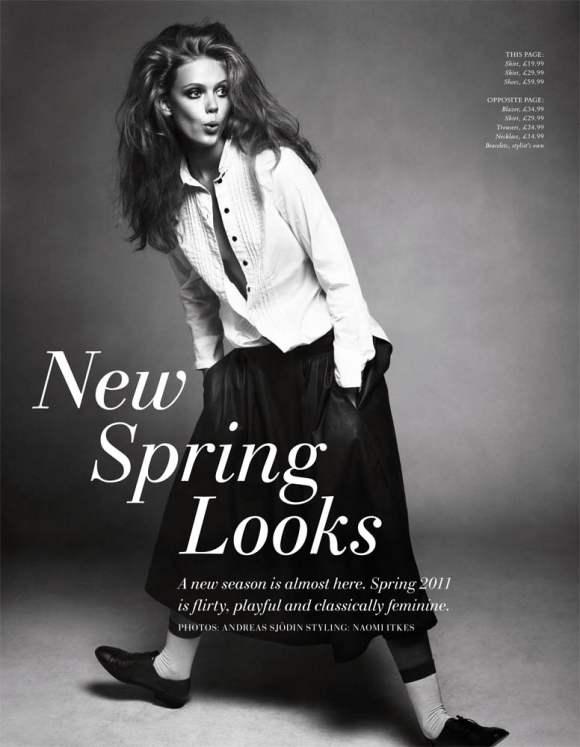 Frida Gustavsson HM Magazine Winter 2010
