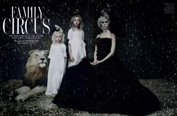 Lindsey Wixson  W Magazine