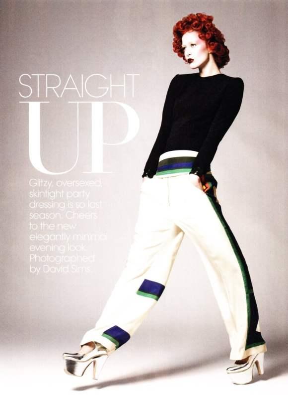 Raquel Zimmermann Vogue US December 2010-2