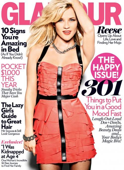 Reese Witherspoon Glamour January 2011