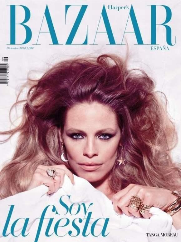 Tanga Moreau Harpers Bazaar Spain December