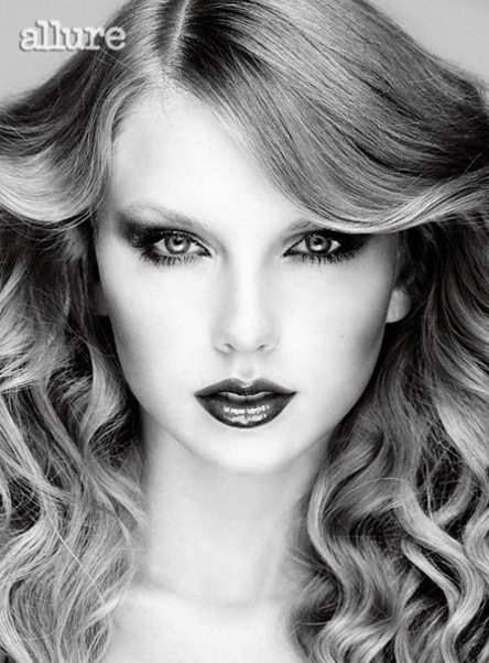 Taylor Swift Allure December 2010-2