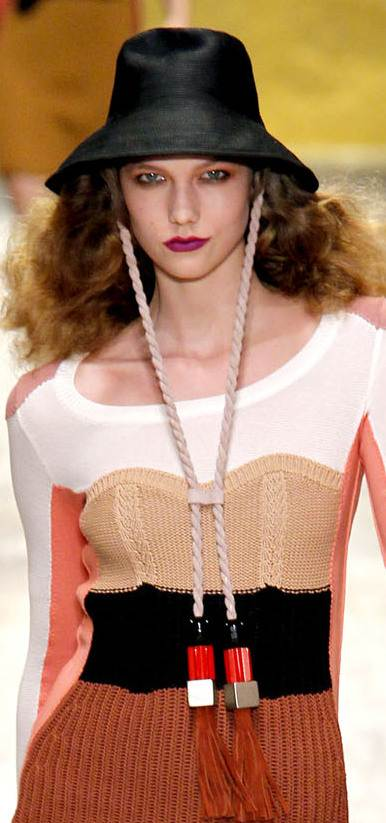 bucket hats with tassels for women spring 2011 Sonia Ryrie