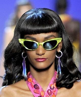 cat eye sunglasses spring 2011 trend Dior