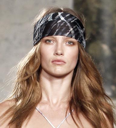 Hair Accessories Trend S/S 2011: Headbands, Bandanas and Head Gears