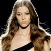loose waves with center parting hairstyle spring 2011