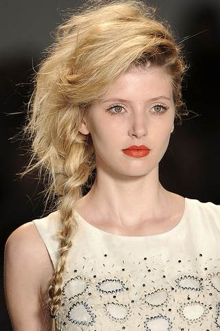 Admirable Messy Side Braid Thin Hair Braids Hairstyle Inspiration Daily Dogsangcom