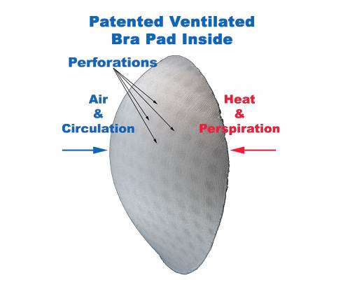 ventipads -ventilated push-up padded bras-3