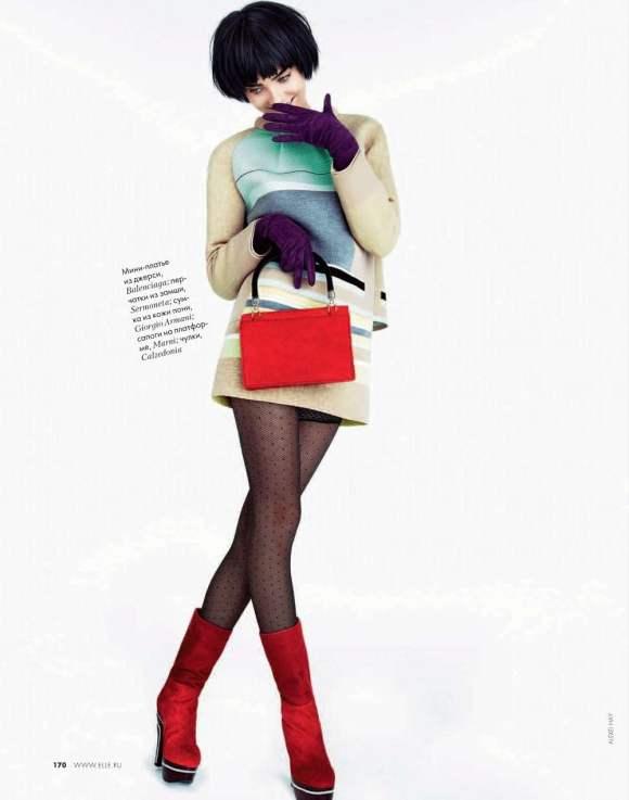 Allison Nix for Elle Russia December 2010 4