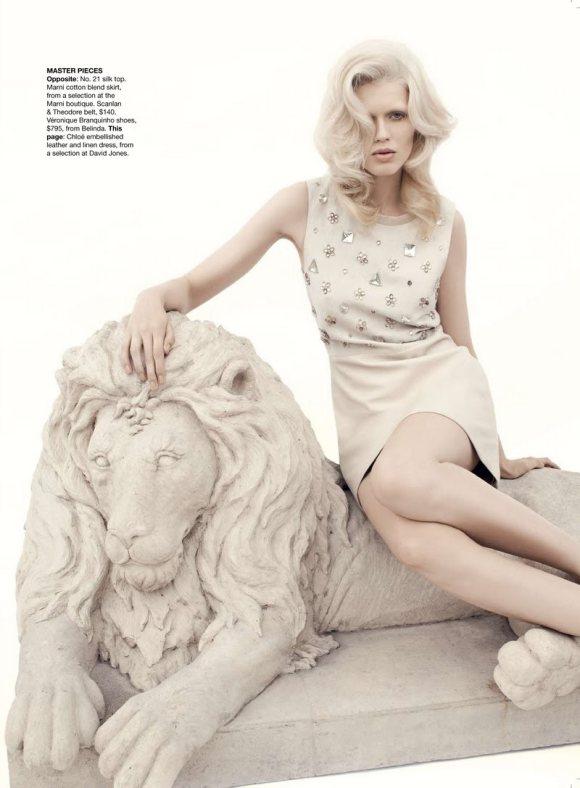 Alys Hale for Vogue Australia January 2011 3