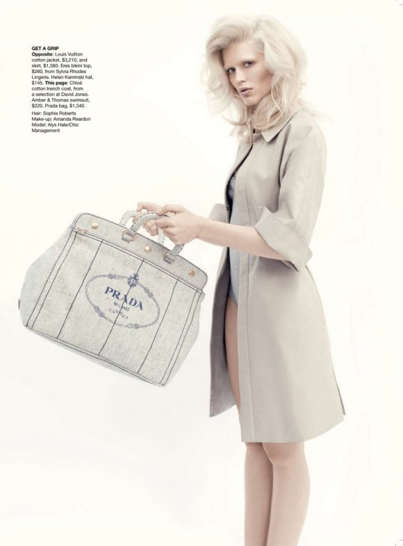 Alys Hale for Vogue Australia January 2011 6
