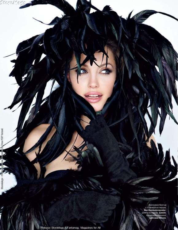 Angelina Jolie for Tatler Russia January 2011 2