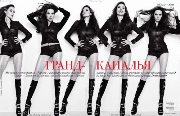 Angelina Jolie for Tatler Russia January 2011 3
