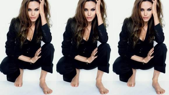 Angelina Jolie for Tatler Russia January 2011
