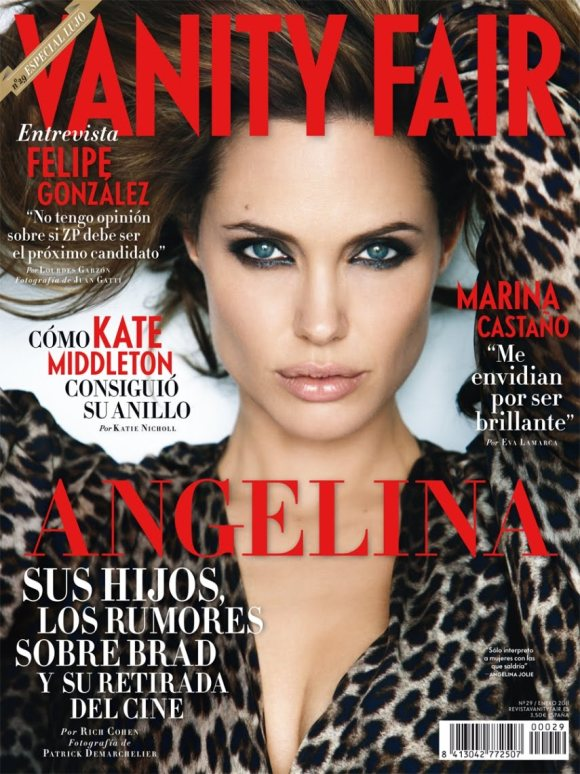 Angelina Jolie for Vanity Fair Spain January 2011