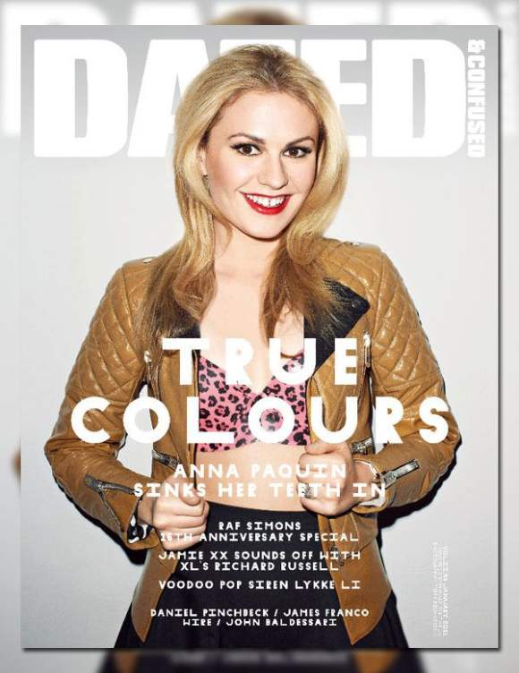 Anna Paquin for Dazed Confused January 2011