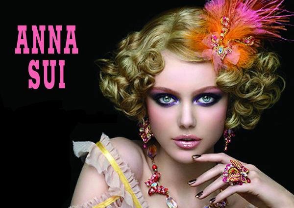 Anna Sui S S 2011 Ad Campaign Preview