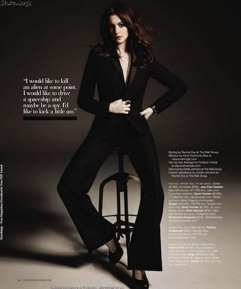 Anne Hathaway Gotham Magazine December 2010 3