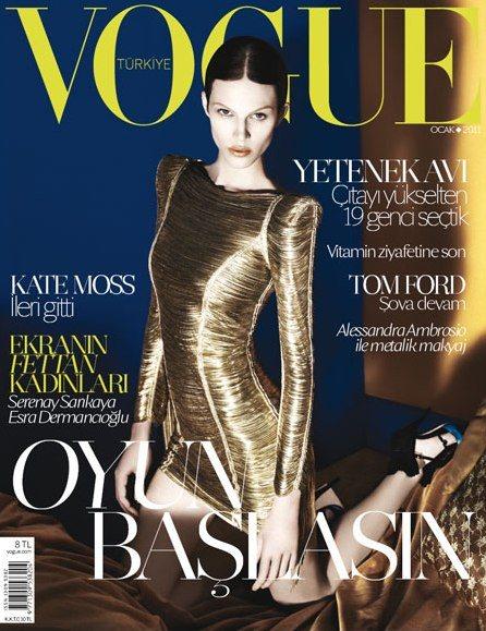 Aymeline Valade for Vogue Turkey January 2011