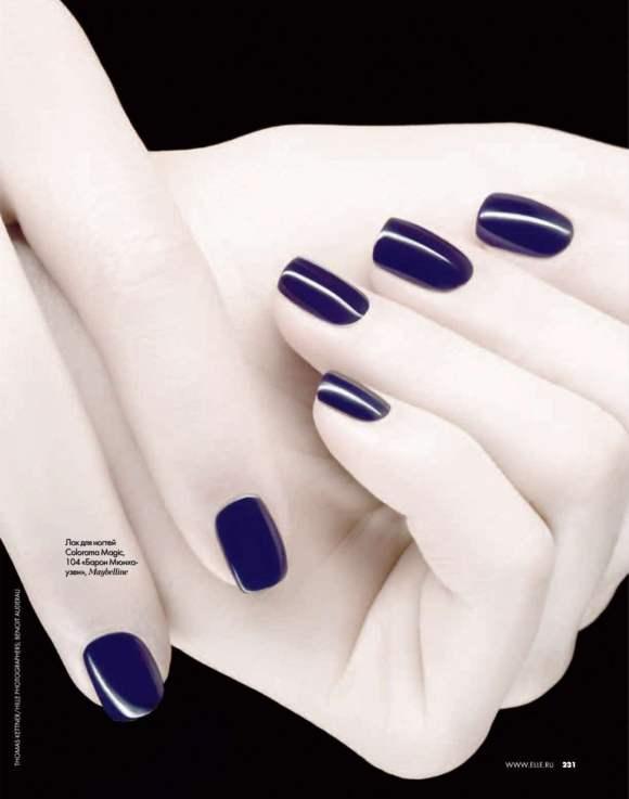 Beauty editorial Elle Russia December 2010 6