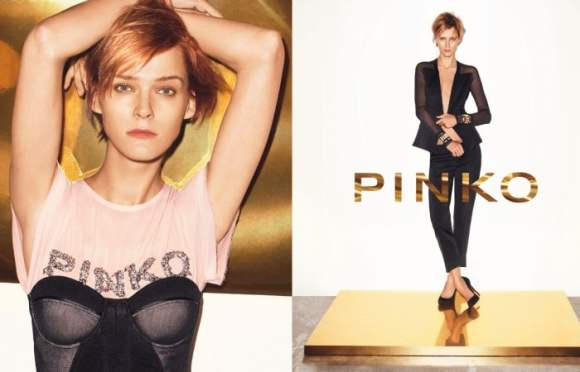Carmen Kass for Pinko Spring 2011 Campaign