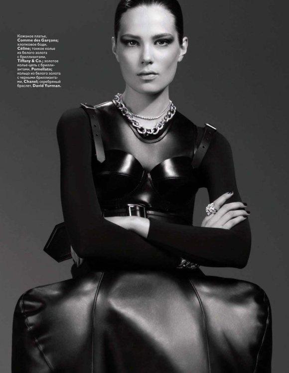 Caroline Brasch Nielsen Vogue Russia January 2011 5