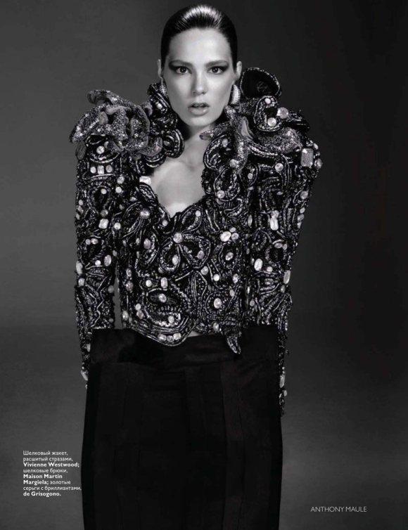 Caroline Brasch Nielsen Vogue Russia January 2011 9
