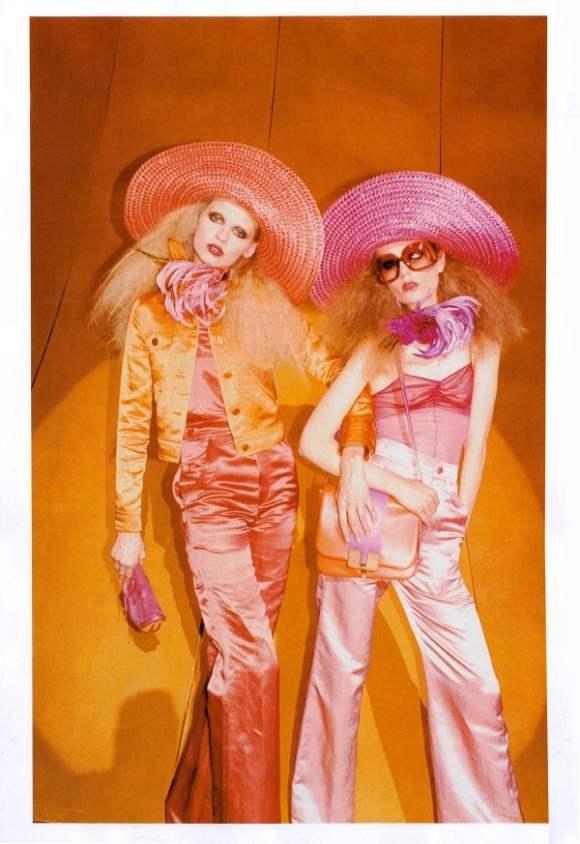 Caroline Masha for Marc Jacobs Spring 2011 Campaign