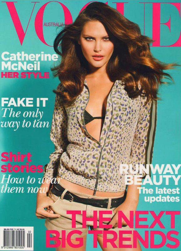 Catherine McNeil Vogue Australia February 2011