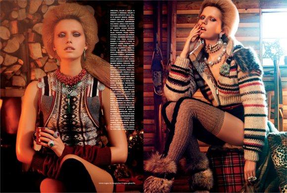 Cato van Ee for Vogue Italia December 2010 4