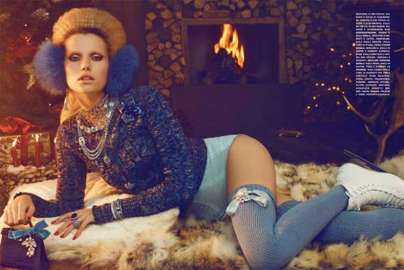 Cato van Ee for Vogue Italia December 2010