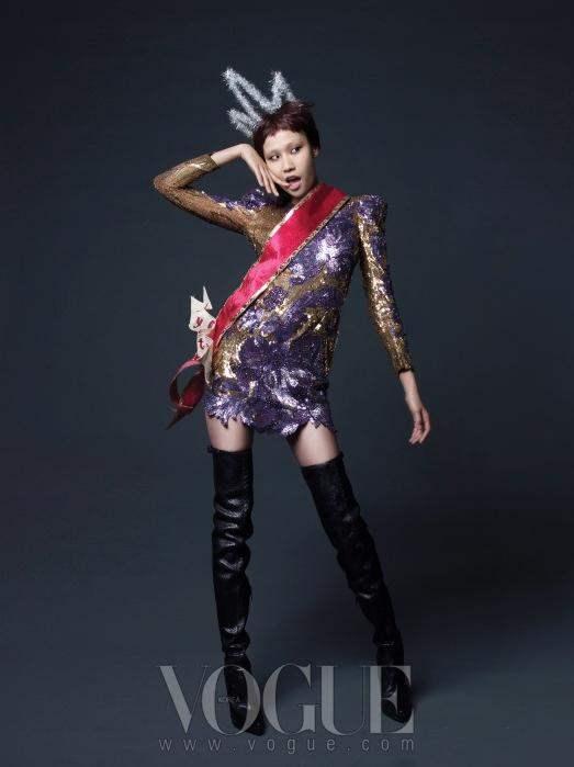 Christmas Editorial Vogue Korea December 2010 13