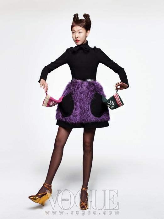Christmas Editorial Vogue Korea December 2010 14