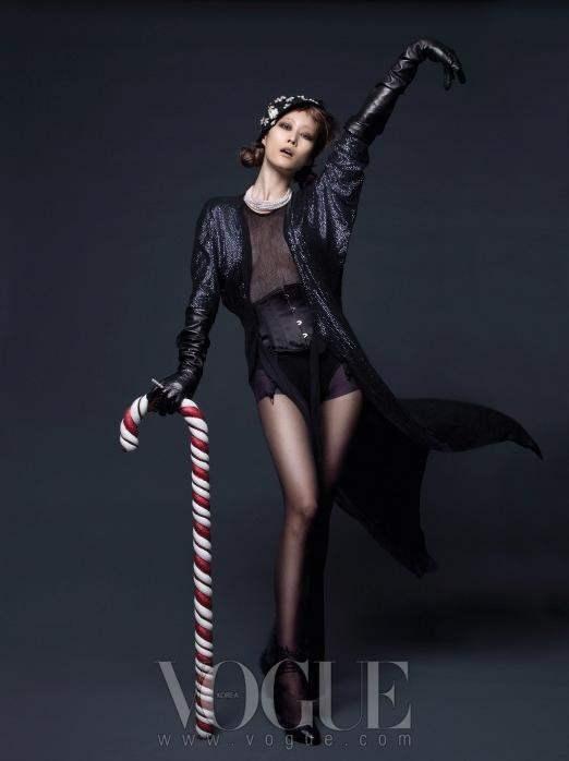 Christmas Editorial Vogue Korea December 2010