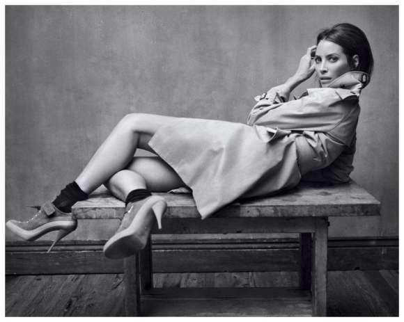 Christy Turlington for Elle France December 2010 Editorial 3