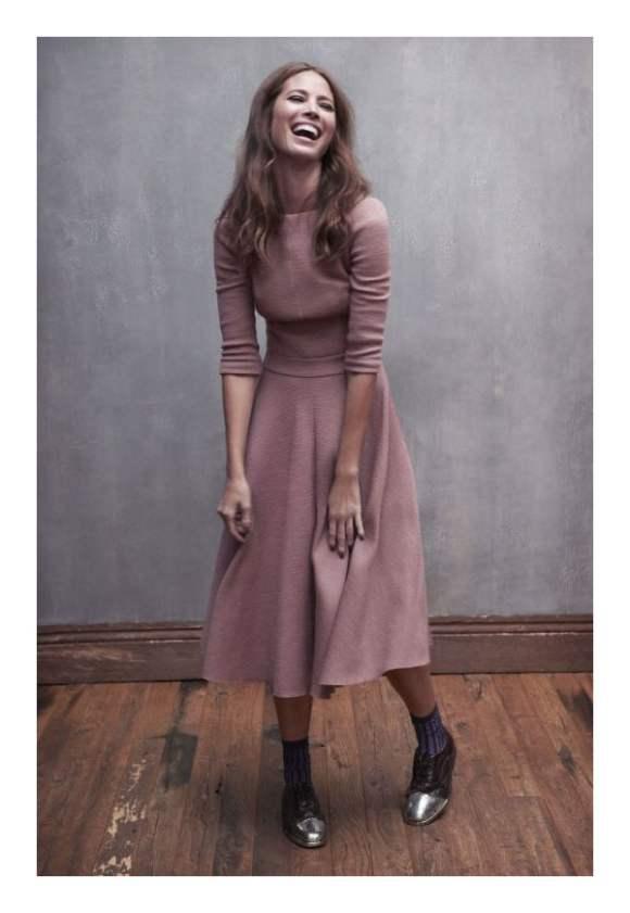 Christy Turlington for Elle France December 2010 Editorial 4