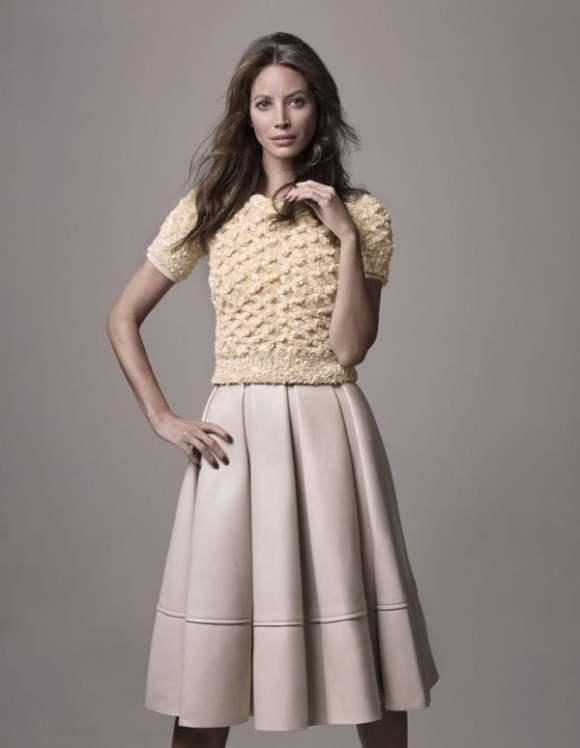 Christy Turlington for Elle France December 2010 Editorial 6