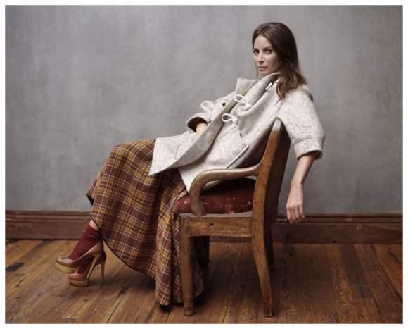 Christy Turlington for Elle France December 2010 Editorial