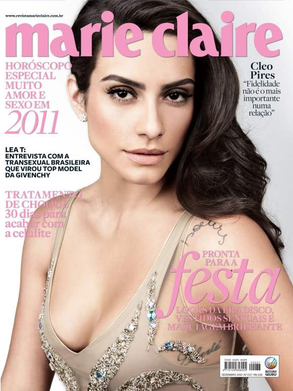Cleo Pires for Marie Claire Brazil December 2010