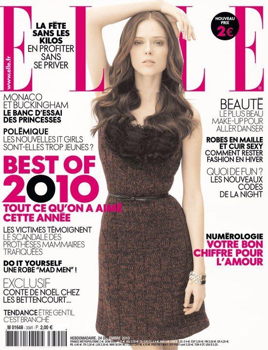 Coco Rocha Elle France December 2010