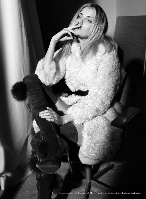 Denisa Dvorakova for Kurv December 2010