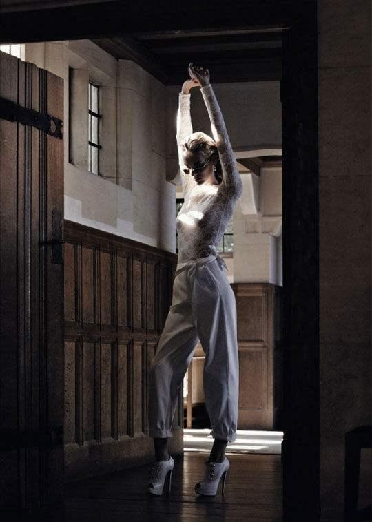 Denisa Dvorakova for Marie Claire Italia January 2011 6