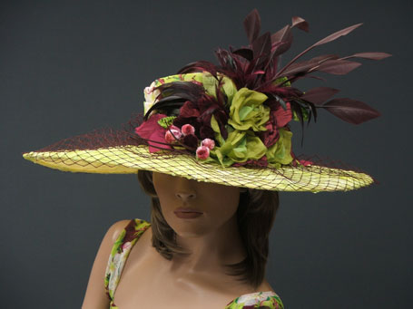Derby hats for women